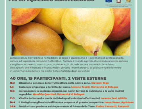 """Corso di formazione """"Biofertimat. La fertilità del frutteto per un equilibrio agroecologico"""". Solo 15 posti!"""